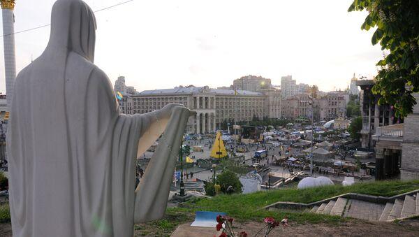 Náměstí Nezávislosti v Kyjevě - Sputnik Česká republika