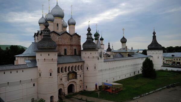 Rostov je starobylé město v Jaroslavské oblasti a jedno z turistických center Zlatého kruhu Ruska. Kvůli odlišení od Rostova na Donu se mu také říká Veliký Rostov - Sputnik Česká republika