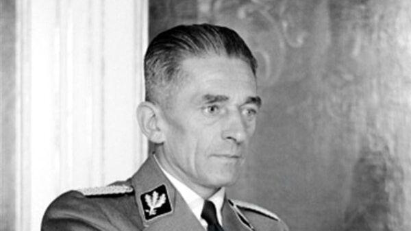 Říšský ministr pro Protektorát Čechy a Morava Karel Hermann Frank - Sputnik Česká republika