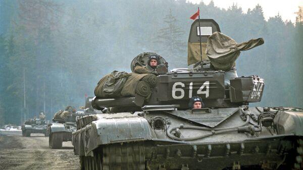 Stažení sovětské armády z Československa - Sputnik Česká republika