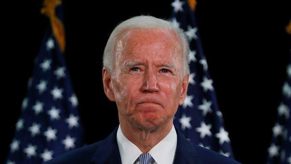 Kandidát na prezidenta za demokraty Joe Biden - Sputnik Česká republika