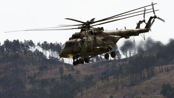 Mil Mi-8 víceúčelový vrtulník - Sputnik Česká republika