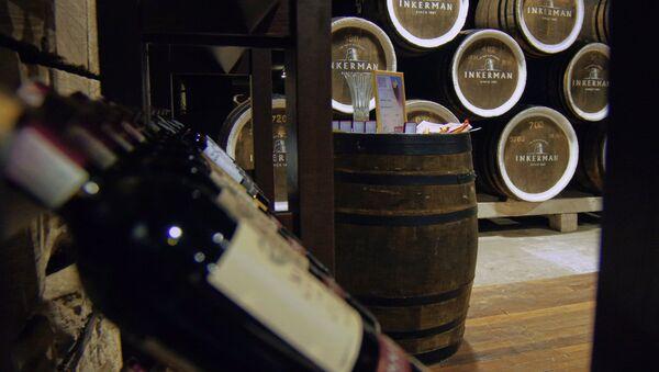 Výroba vína na Krymu - Sputnik Česká republika