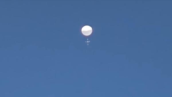 Záhadný balón nad Japonskem, 17. června 2020 - Sputnik Česká republika