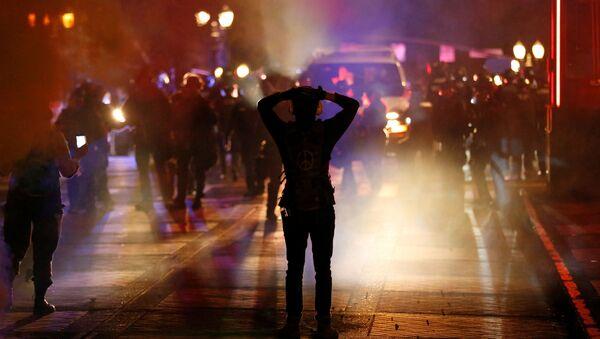 Protesty vyvolané smrtí George Floyda v Portlandu (13. 6. 2020) - Sputnik Česká republika