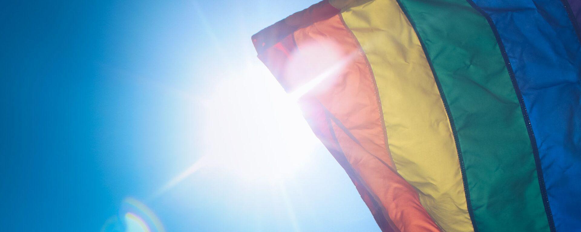 Vlajka LGBT - Sputnik Česká republika, 1920, 27.06.2021