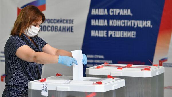 Hlasování o změnách ruské ústavy - Sputnik Česká republika