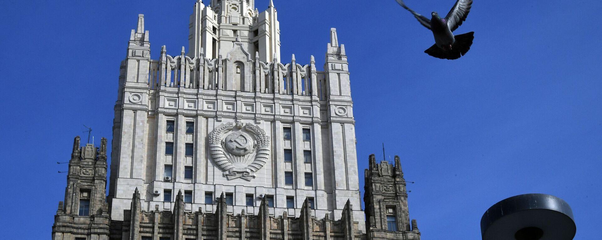Ministerstvo zahraničí Ruska - Sputnik Česká republika, 1920, 15.01.2021