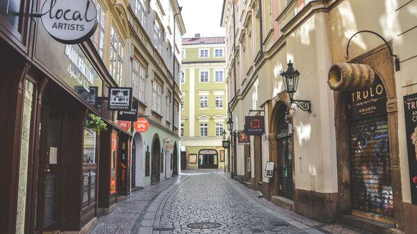 Pražská ulice během karantény - Sputnik Česká republika