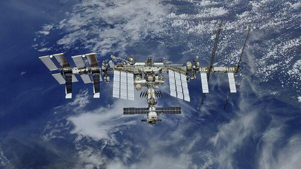 Pohled na ISS z vesmíru - Sputnik Česká republika