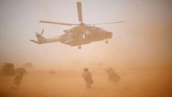 Vojenský vrtulník NH 90 Caiman během operace Barkhane v Mali - Sputnik Česká republika
