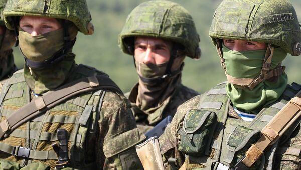 Soutěž speciálních jednotek ruských výsadkových vojsk na jihu Ruska - Sputnik Česká republika