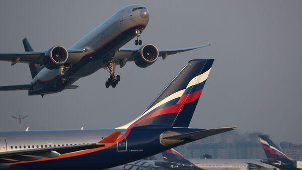 Letadlo Airbus A330 společnosti Aeroflot - Sputnik Česká republika