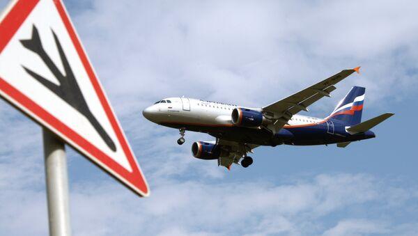 Letadlo Airbus A319 společnosti Aeroflot - Sputnik Česká republika