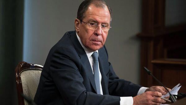 Sergej Lavrov - Sputnik Česká republika