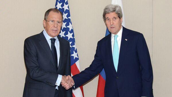 Sergej Lavrov a John Kerry - Sputnik Česká republika