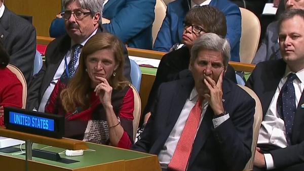Uživatele sociálních sítí znudil Obamův projev na VS OSN stejně, jako Kerryho - Sputnik Česká republika