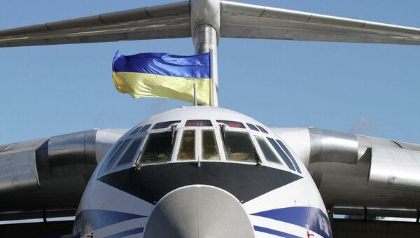 Ukrajinské letadlo - Sputnik Česká republika