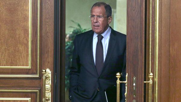 Ministr zahraničí Ruska Sergej Lavrov - Sputnik Česká republika