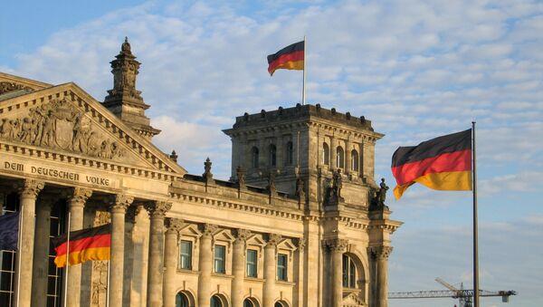 Budova Říšského sněmu v Berlíně - Sputnik Česká republika