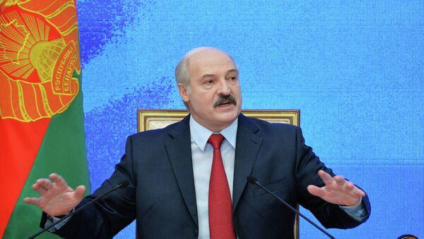 Prezident Běloruska Alexander Lukašenko - Sputnik Česká republika