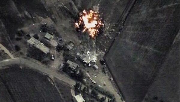 Letecké ůtoky Ruska v Sýrii - Sputnik Česká republika