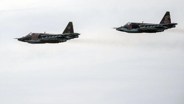 Letadla Su-25 - Sputnik Česká republika