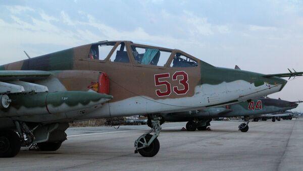 Su-25 (exkluzivní foto ze Sýrie) - Sputnik Česká republika