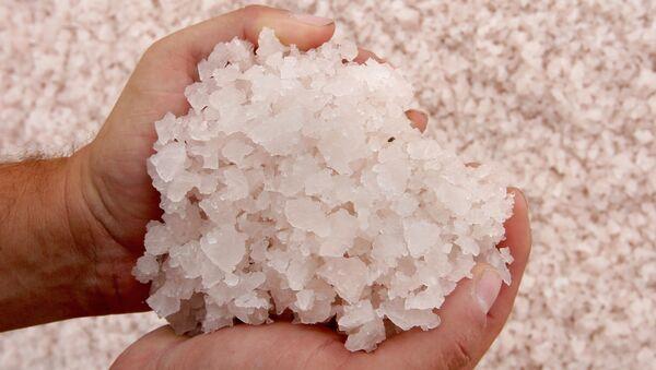 Krym: jak se vyrábí sůl - Sputnik Česká republika