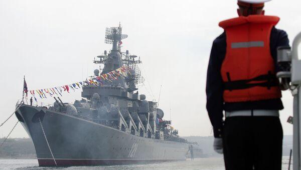 Křižník Moskva Černomořské flotily - Sputnik Česká republika