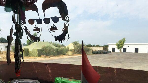 Ruští vojáci na základně Hmeimim v Sýrii - Sputnik Česká republika