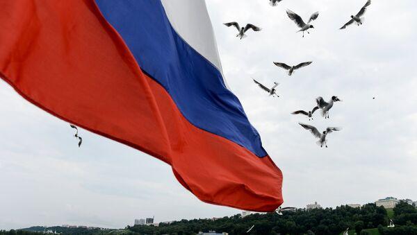 Ruská vlajka - Sputnik Česká republika