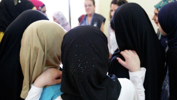 Ženy v hidžábu. Ilustrační foto - Sputnik Česká republika