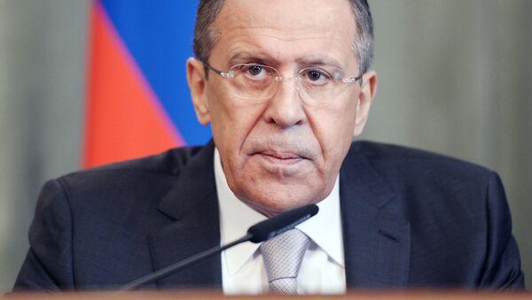 Ministr zahraničních věcí Ruské federace Sergej Lavrov - Sputnik Česká republika