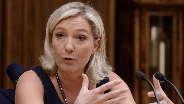 Marine Le Penová, francouzská politička a právnička - Sputnik Česká republika