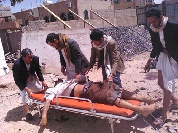 Exploze v jemenské mešitě - Sputnik Česká republika