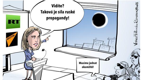 Propaganda - Sputnik Česká republika