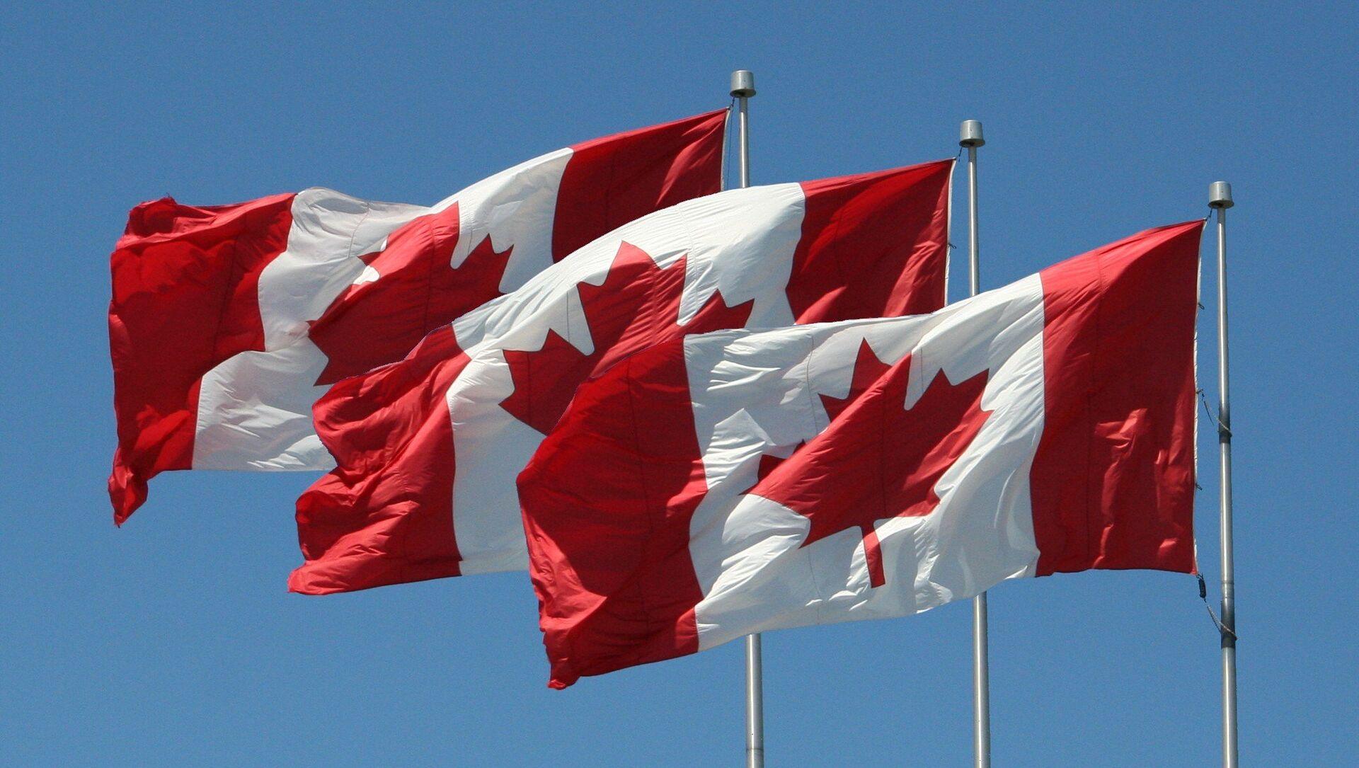 Vlajky Kanady - Sputnik Česká republika, 1920, 19.02.2021
