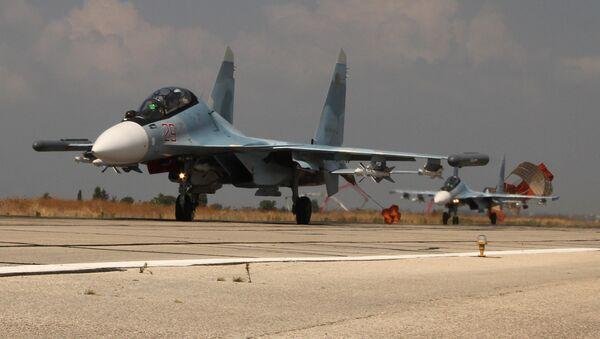 Ruské letectvo na základně Hmeimim - Sputnik Česká republika