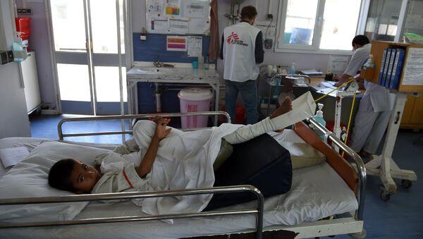 Nemocnice v Kunduzu - Sputnik Česká republika