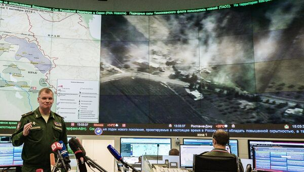 Oficiální mluvčí MO Ruska generálmajor Igor Konašenkov - Sputnik Česká republika