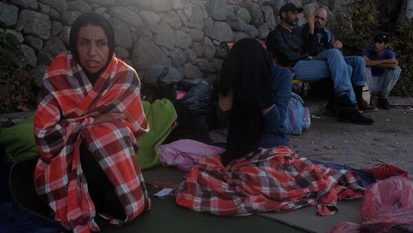 Situace s uprchlíky na ostrově Lesbos - Sputnik Česká republika