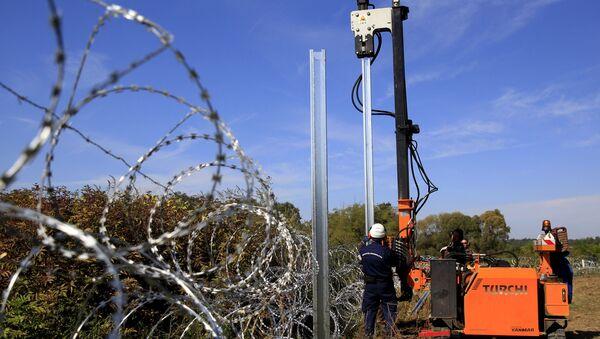 Maďarsko-chorvatská hranice - Sputnik Česká republika