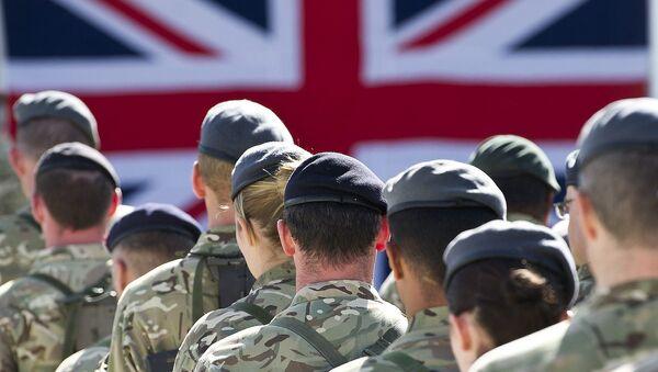 Britiští vojáci - Sputnik Česká republika
