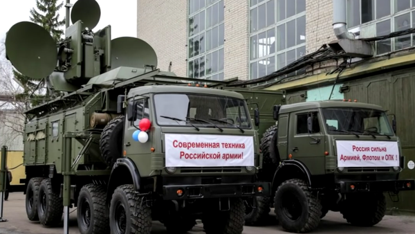 Komplexy radioelektronického boje Krasucha-4 - Sputnik Česká republika