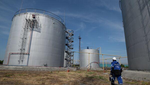Zaměstnanec Gazprom-Neft v Novosibirsku - Sputnik Česká republika