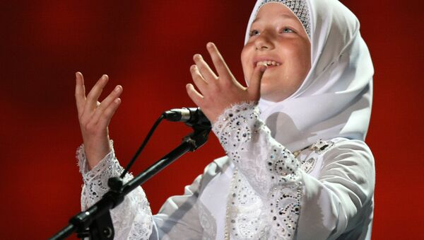 Kadyrovova dcera Chutmat - Sputnik Česká republika
