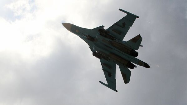 Su-34 v Sýrii - Sputnik Česká republika