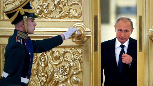 Ruský prezident Vladimir Putin v Kremlu - Sputnik Česká republika
