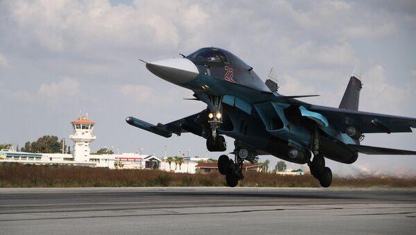 Ruské letectvo na základně Hmeimim v Sýrii - Sputnik Česká republika